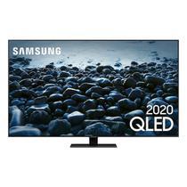 "Smart TV Samsung Q80T 65"" QLED 4K Borda ultrafina modo ambiente 3.0 Preto -"