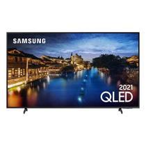 Smart TV Samsung QLED 4K 50Q60A Design Slim Modo Game Som em Movimento Virtual Visual Sem Cabos -