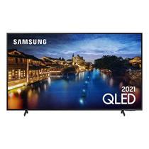 """Smart TV Samsung QLED 4K 55Q60A Design Slim Modo Game Som em Movimento Virtual Visual Sem Cabos 55"""" -"""