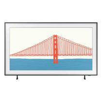 Smart TV Samsung QLED 4K The Frame 2021 43LS03A Design Slim Molduras Customizáveis Modo Arte -