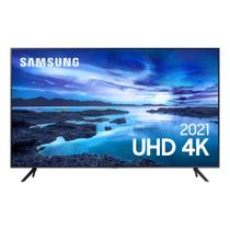 Smart TV Samsung UHD Processador Crystal 4K 50AU7700 Tela Sem Limites Visual Livre de Cabos -