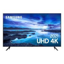 Smart TV Samsung UHD Processador Crystal 4K 58AU7700 Tela sem limites Visual Livre de Cabos -
