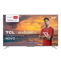 Smart Tv Tcl 50 Polegadas P715 4k Uhd - Android Tv -