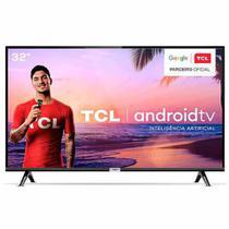 "Smart TV TCL LED HD 32"" com  HDR, Modo Cinema, Google Assistant e Wi-Fi - 32S6500 -"