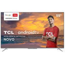 "Smart TV TCL LED Ultra HD 4K 55"" Android TV com Google Assistant, Borda Ultrafina e Wi-Fi - 55P715 -"