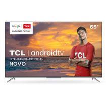 "Smart TV TCL LED Ultra HD 4K 65"" Android TV com Google Assistant, Borda Ultrafina e Wi-Fi - 65P715 -"