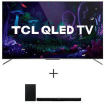Smart TV TCL QLED Ultra HD 4K 55 Android TV - QL55C715 + Soundbar TCL com 2.1 Canais, 320W e Subwoofer Sem Fio - TS7010 -