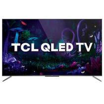 """Smart TV TCL QLED Ultra HD 4K 65"""" Android TV com Google Assistant, Design sem Bordas e Wi-Fi- QL65C715 -"""