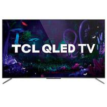 "Smart TV TCL QLED Ultra HD 4K 65"" Android TV com Google Assistant, Design sem Bordas e Wi-Fi- QL65C715 -"