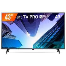 "Smart TV Tela 43"" LG 43LM631C0SB.BWZ Full HD Wi-Fi + 2 USB 3 HDMI -"