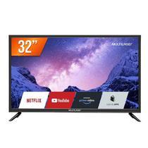 Smart Tv Tl020 Led 32 Polegadas Full Hd Wifi Com Função Dnr Multilaser Liberatti -