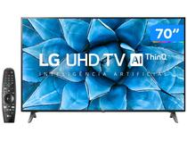 "Smart TV UHD 4K LED 70"" LG 70UN7310PSC Wi-Fi - Bluetooth HDR Inteligência Artificial 3 HDMI 2 USB"