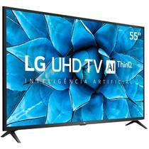 "Smart TV UHD 4K LED IPS 55"" LG 55UN7310PSC Wi-Fi - Bluetooth HDR Inteligência Artificial 3 HDMI 2 USB -"