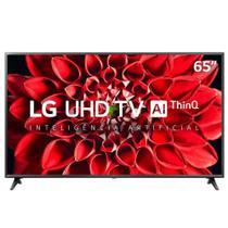 Smart Tv Ultra Hd 4k Led 65 Polegadas Lg 65un7100psa Preto Bivolt -