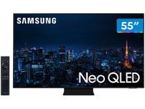 "Smart TV Ultra HD 4K Neo QLED 55"" Samsung Neo - QN55QN90AAGXZD Wi-Fi Bluetooth HDR 4 HDMI 2 USB"