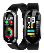 Smart Watch Pulseira Inteligente Monitor Cardíaco  Celular - Tomate