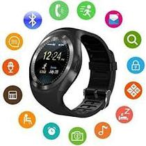 Smart Watch Y1 Relógio Inteligente Android Touch Bluetooth - Import