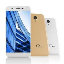Smartphone 4G Dual Chip Wi-Fi Android 8GB Quad Core Multilaser Dourado  MS50 P9014 -