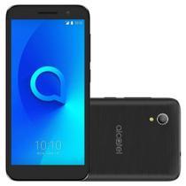 """Smartphone Alcatel 1 OT-5033J Dual 8GB, Quad Core, Câmera Traseira 8MP e Frontal 5MP, Tela 5"""" Preto -"""