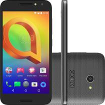 Smartphone Alcatel A3 5046JH Preto, Dual Chip, Tela 5, Câm. 8MP, 16GB, TV  Digital, 4G. Android 6.0 f0eae51279