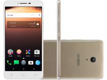 "Smartphone Alcatel A3 XL Max 32GB Dourado 4G - Quad Core 3GB RAM Tela 6"" Câm. 8MP + Selfie 5MP"