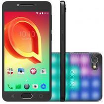 Smartphone Alcatel A5 LED 16GB Capa Interativa Tela 5.2 Câmera 16MP - Prata -
