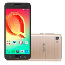 Smartphone Alcatel A5 Max 32GB 3GB RAM Tela 5.2 Câmera traseira 16MP - Dourado -