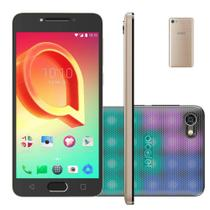 Smartphone Alcatel A5 Max Led Edition 32GB Tela 5,2 Octa-Core 3GB Ram - Dourado