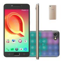 Smartphone Alcatel A5 Max Led Edition 32GB Tela 5,2 Octa-Core 3GB Ram - Dourado -