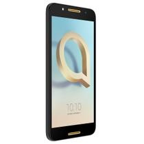 Smartphone Alcatel A7 Preto, Tela 5.5Pol IPS HD, 32GB+4GB RAM, Câmeras com flash 16MP+ 8MP, 8-Core, Android 7, Dual Chip, 4G