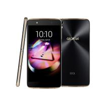 Smartphone Alcatel Idol4 2017 Preto e Dourado - Octa-Core, 16GB +cartao SD 16GB, 3GB RAM, Tela 5.2
