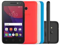 """Smartphone Alcatel PIXI4 4 Colors 8GB Preto - Dual Chip 3G Câm. 8MP + Selfie 5MP Flash Tela 4"""""""