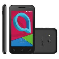 Smartphone Alcatel Pixi4 4 Dual Chip, Preto, Tela 4, 3g+wifi, Android 6, 8mp, 8gb -