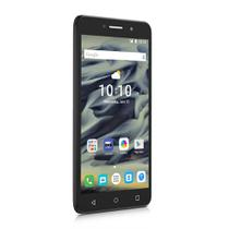 Smartphone Alcatel PIXI4 6 HD Preto 6Pol HD 8GB Câmeras 13MP+8MP Quad Core Android 5.1 Dual 3G