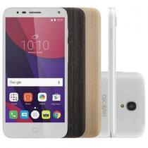 Smartphone Alcatel POP4 Premium 8GB + SD 32GB Tela 5 3 Capas 13mp 4G