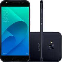 Smartphone Asus Zenfone 4 Selfie PRO, Android 7.0, Dual chip, 16MP, 5.5 Full HD, 64GB, 4G - Preto