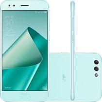 """Smartphone asus zenfone 4 ze554kl 4ram 64gb tela 5.5"""" lte dual verde -"""