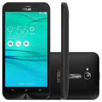 "Smartphone Asus Zenfone GO LTE Preto 16GB Dual Chip Quad Core Tela 5,0"" Câmera 13MP -"
