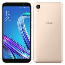 "Smartphone ASUS Zenfone Live ZA550KL, Dual Chip, Tela 5.5"", 13MP Android O, 32GB, 2GB RAM - Dourado -"
