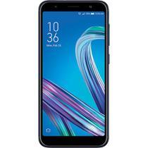 "Smartphone Asus Zenfone Max M2 ZB555KL 32GB Dual Chip Tela 5.5"" 4G WiFi Câmera Dual 8MP+13MP Preto -"