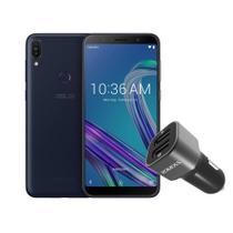 Smartphone Asus Zenfone Max Pro M1 32GB Preto + Carregador Veicular Turbo -