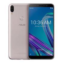 Smartphone Asus Zenfone Max PRO M1, 64GB, Android Oreo, Dual chip, 16MP, 6.0'', 64GB, 4G - Prata -
