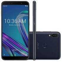 "Smartphone Asus Zenfone Max Pro M1 Preto 64GB 4GB 6"" Full HD Câmera Dual 16MP e 5MP Dual Chip -"