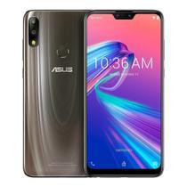 """Smartphone Asus Zenfone MAX Pro M2 64GB Android 9.0 Tela 6.26"""" Câmera Dupla 12 MP + 5 MP - Titanium -"""