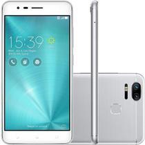 Smartphone Asus Zenfone Zoom S Dual Chip Tela 5.5 Snapdragon 64GB 4G Câmera 12MP Dual Cam - Prata - Asus Smartphone