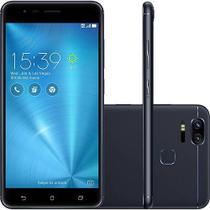 Smartphone Asus Zenfone Zoom S Dual Chip Tela 5.5 Snapdragon 64GB 4G Câmera 12MP Dual Cam - Preto -