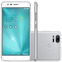 Smartphone Asus Zenfone Zoom S ZE553KL-3J069BR Octa Core Android 6, Tela 5,5 128GB 12MP 4G - Prata -