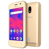 """Smartphone Blu C4 C050l 512mb / 3g / Dual Sim / Tela 4.0"""" / Câmeras 5mp E 5mp - Dourado -"""