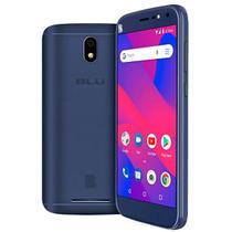 "Smartphone blu c6l c0030ll 1ram 16gb tela 5.5"" 3g dual azul -"