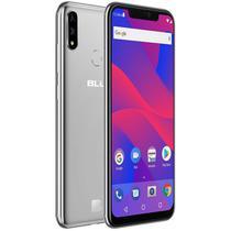 "Smartphone blu vivo xi+ v0310ww 4ram 64gb tela 6.2"" lte dual prata -"